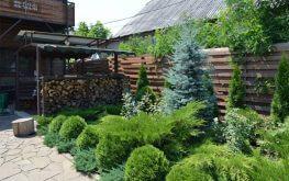 "Вилла ""Green Wood"", территория, беседка, зеленый уголок"